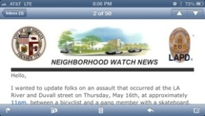Neighborhood Watch News