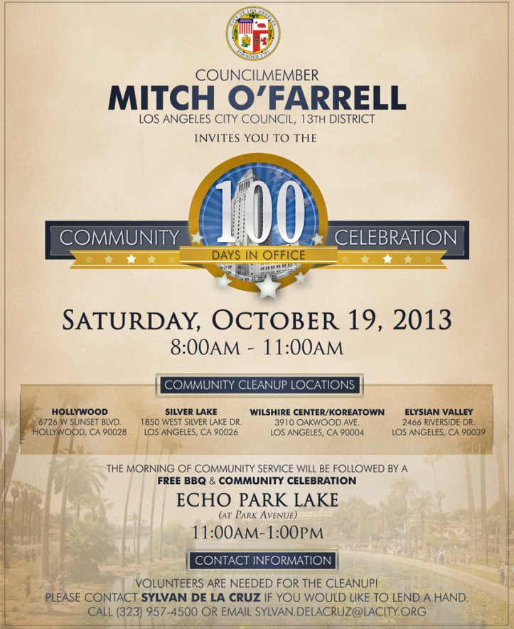 100 Day Community Celebration
