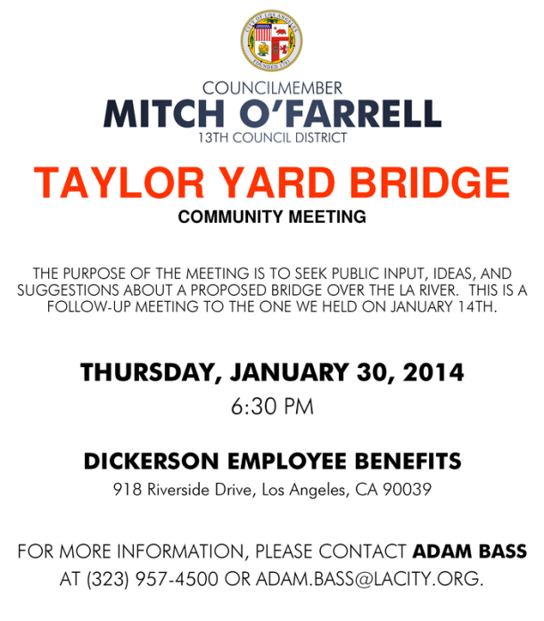 Taylor Yards Bridge Community Meeting (1)