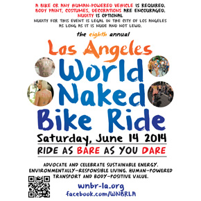 World Naked Bike Ride Los Angeles – June 14, 2014
