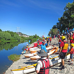 Free Fun! Community Paddle Evenings on the Los Angeles River – Wednesday, August 20, 2014