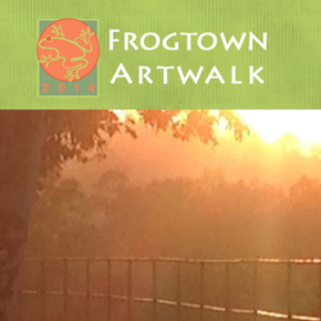 Frogtown Artwalk Map