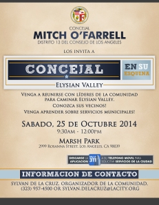 2014-10-Councilmember In Your Corner - EV-Spanish