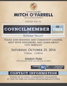 2014-10-Councilmember In Your Corner - EV
