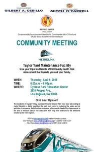 Metrolink 4-9-15 Community Meeting Flyer - English