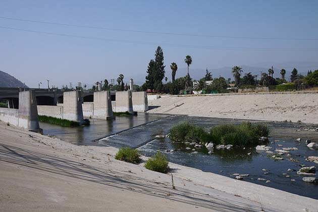Concrete-based hydrological architecture is part of the L.A. riverscape. | Photo: Magda Wojdyra/Flickr/Creative Commons