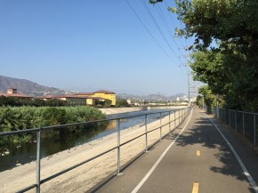 Biking the LA River