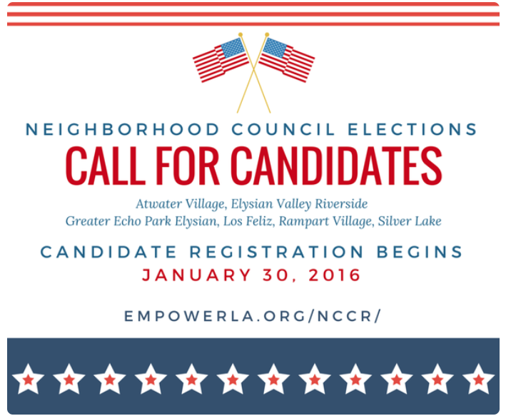 2016 call for candidates