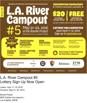 LA River Campout No. 5