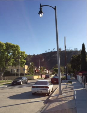 Elysian Valley street light project