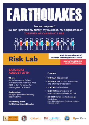 Community risk assessment workshop Aug. 27th